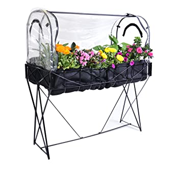 FlowerHouse FHSG101 Stand Up Garden Greenhouse System (Discontinued By  Manufacturer)
