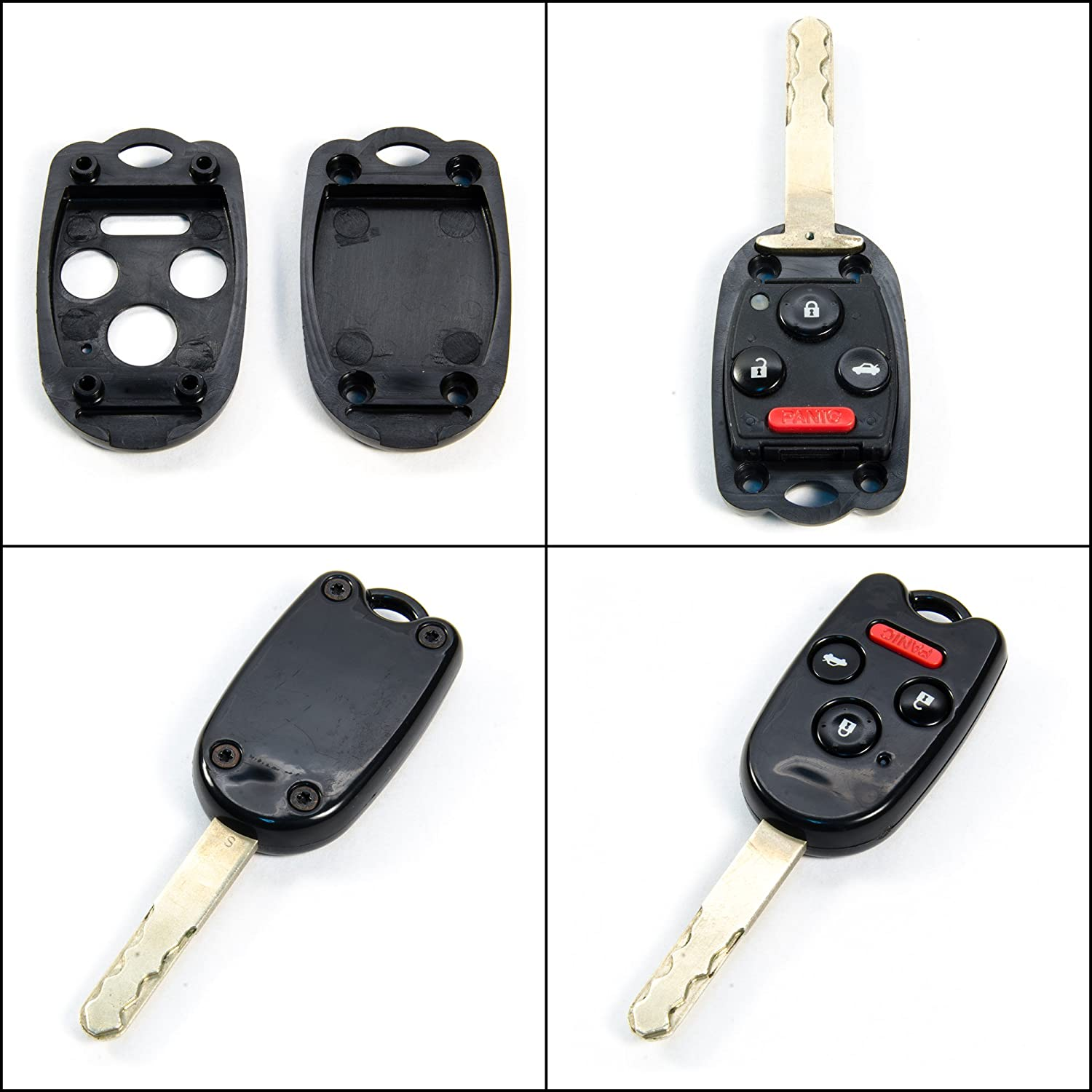 amazon com stauber best honda key shell replacement for accord