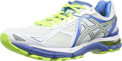 Women's ASICS GT-2000 3 - White/Lightning/Powder Blue Running Shoes