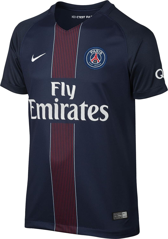Nike Youth Paris-Saint Germain Stadium Jersey-Midnight Navy