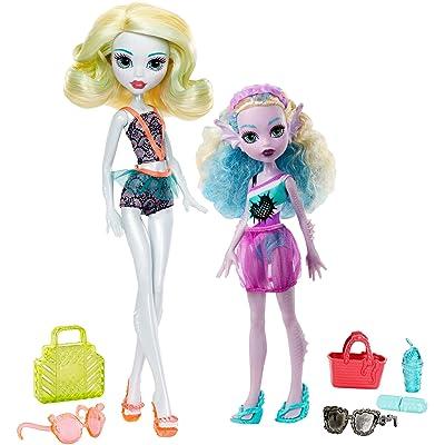 Monster High Monster Family 2-Pack Dolls: Toys & Games