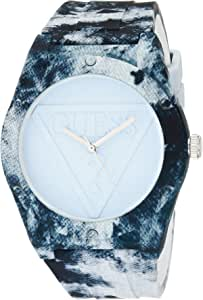 GUESS Reloj Analógico para Mujer de Cuarzo con Correa en Silicone W0979L14