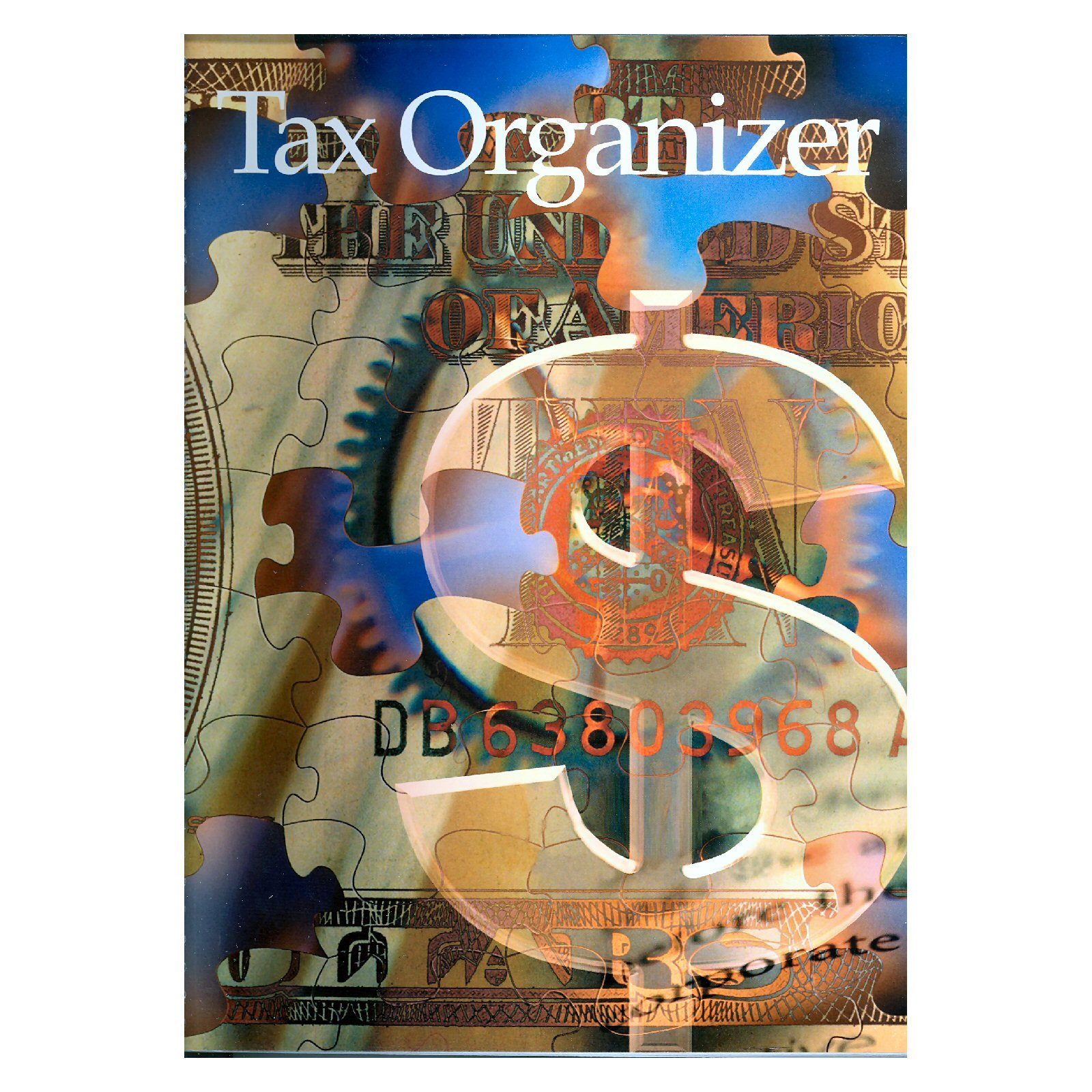 Tax Organizer Book with Pockets