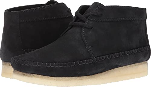 Weaver Boot Black Suede Boot at Amazon