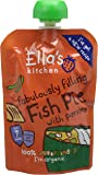 Ellas Kitchen Squashed Squishy Fishy Cakes with Parsley, 130g (Pack of 6)
