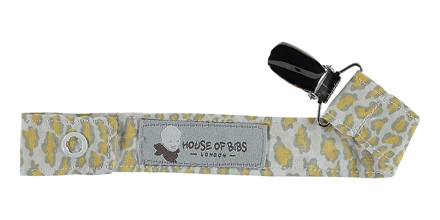 House of Bibs Sujeta Chupetes/ Chupetero - Animal Print ...