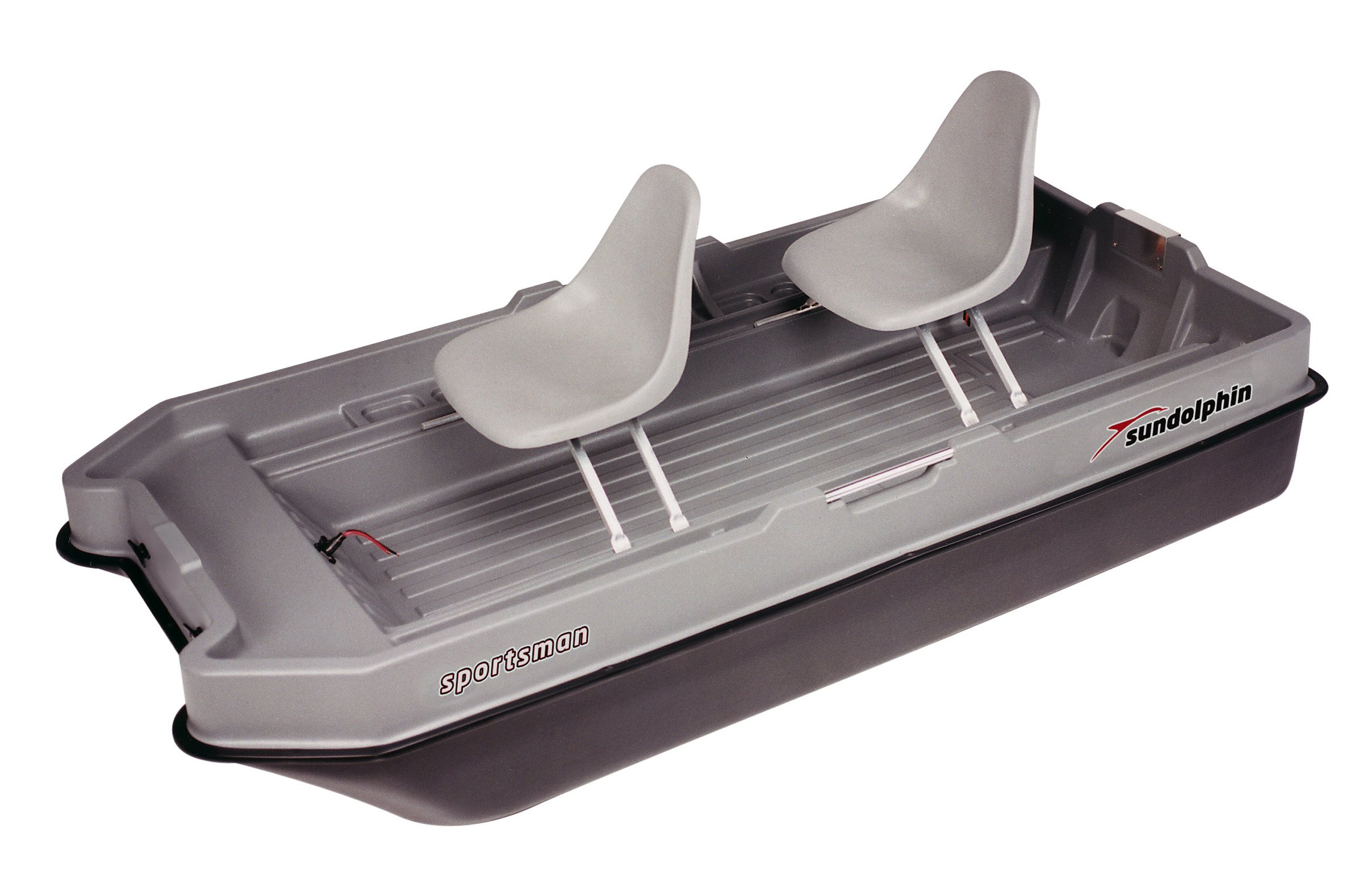 Sun Dolphin Sportsman Fishing Boat (Gray/Black, 8.6-Feet) by Sun Dolphin