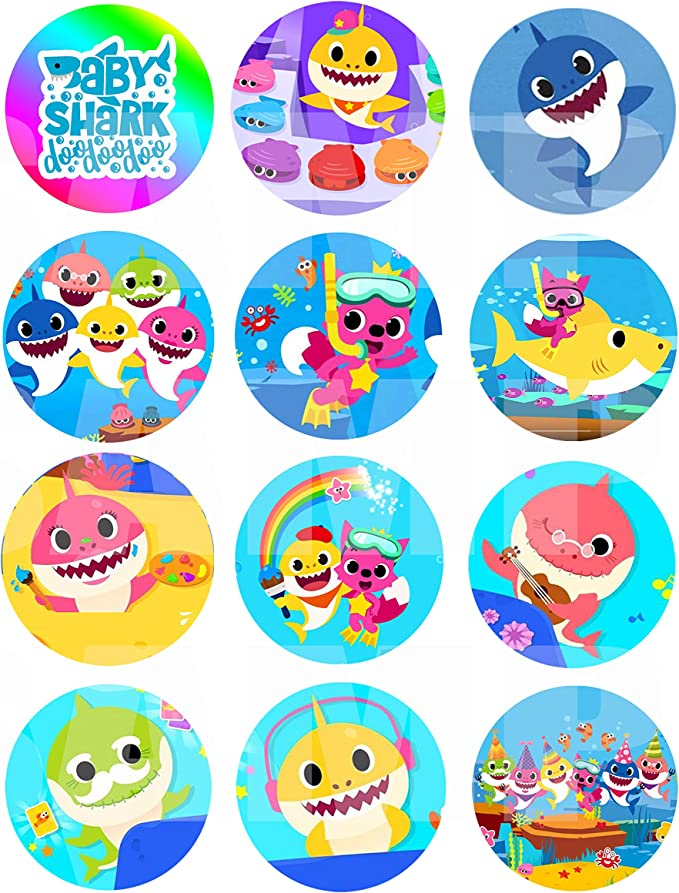 LITTLE LAMB Button Baby Shower Small 1 23  Circles Sticker Sheets Print or Instant Download