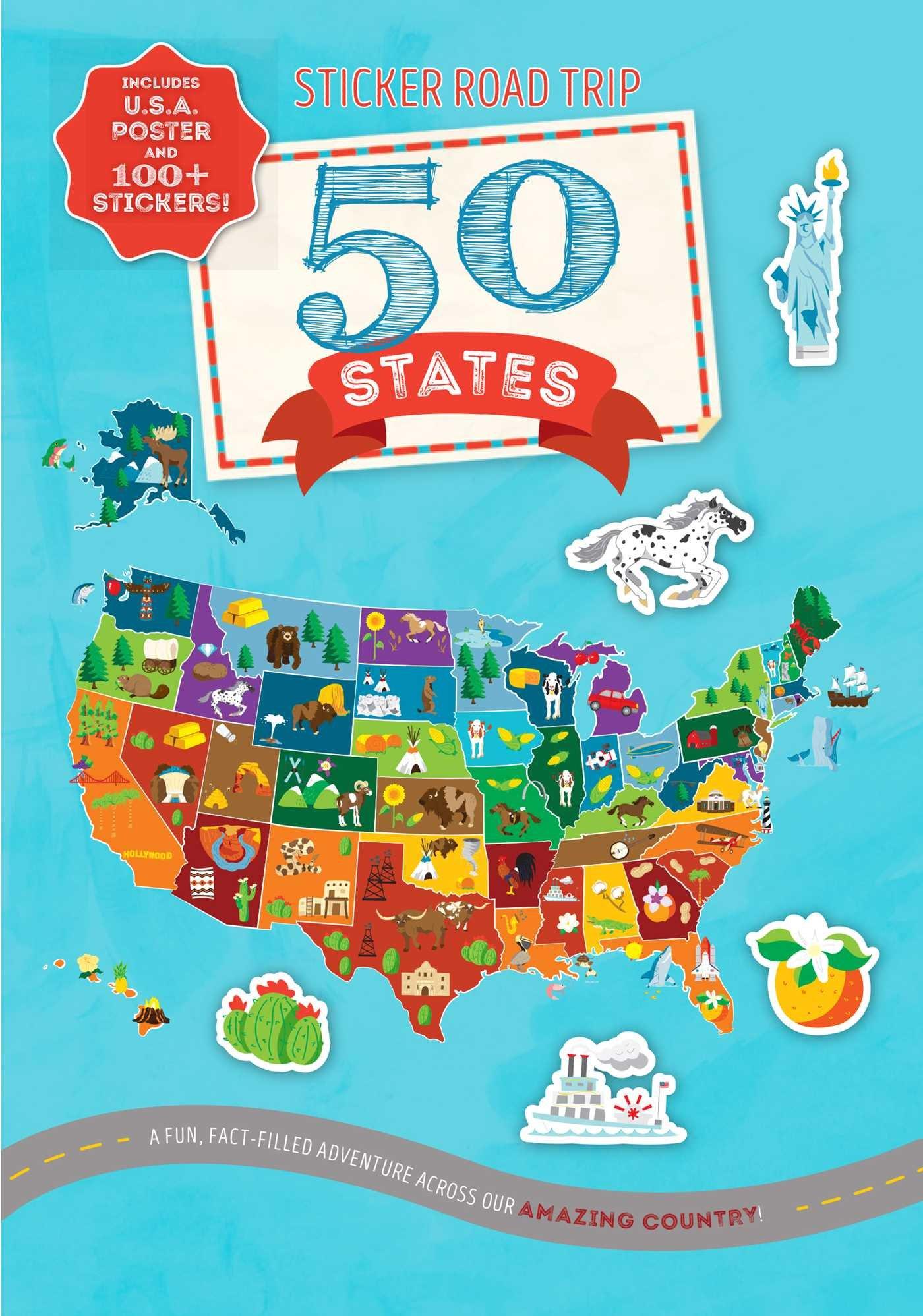 Download Sticker Road Trip: 50 States ebook