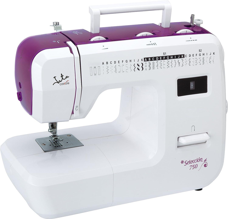 Jata MC750 Máquina de Coser con 31 diseños de Puntada y Ojal en 4 ...
