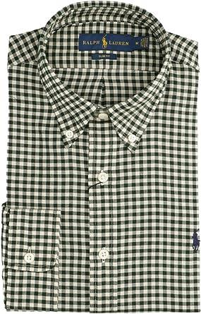 Polo Ralph Lauren Mod. 710767420 Camisa Cuadros Slim Fit ...