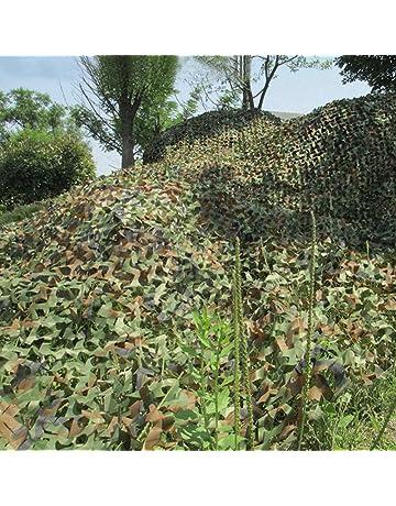 Iraza Red de Camuflaje,Camouflage Net Mallas de Protección Ejército Combate Militar Táctico para Caza