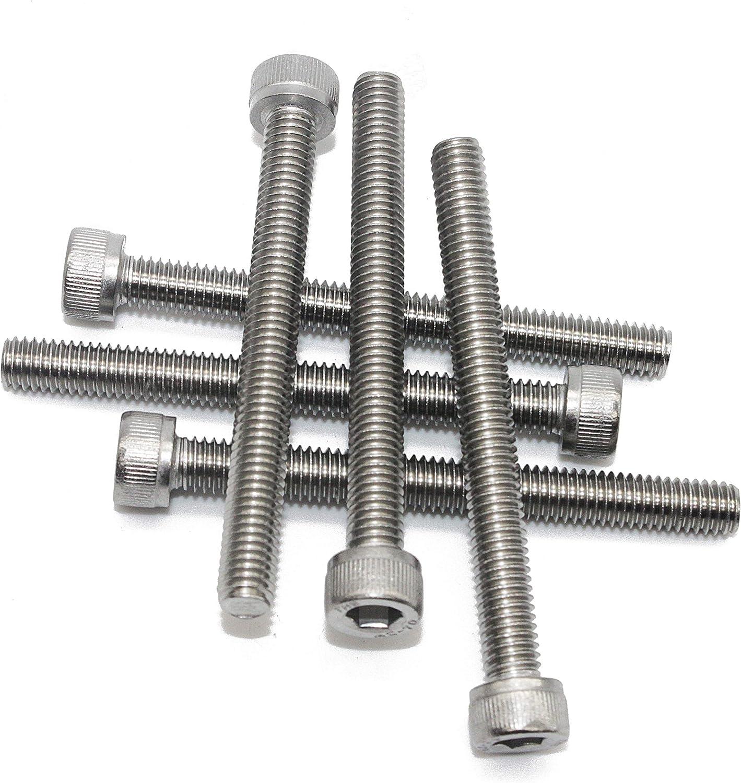 - ISO 4762 Zylinderschrauben mit Innensechskant M6 x 12 mm 20 St/ück DIN 912Edelstahl A2 V2A- rostfrei