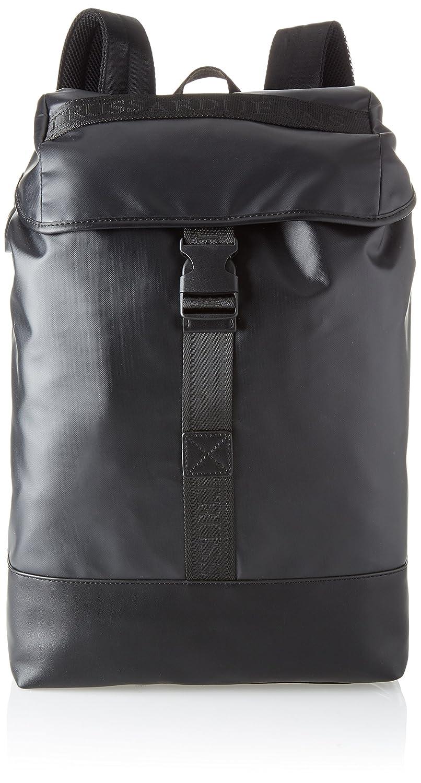 Trussardi Jeans Herren San Diego Coated Backpack Backpack Backpack Rucksack, Schwarz (schwarz) 31x41x17 centimeters B077THJ6L4 | Umweltfreundlich  | Online einkaufen  | Creative  d72974