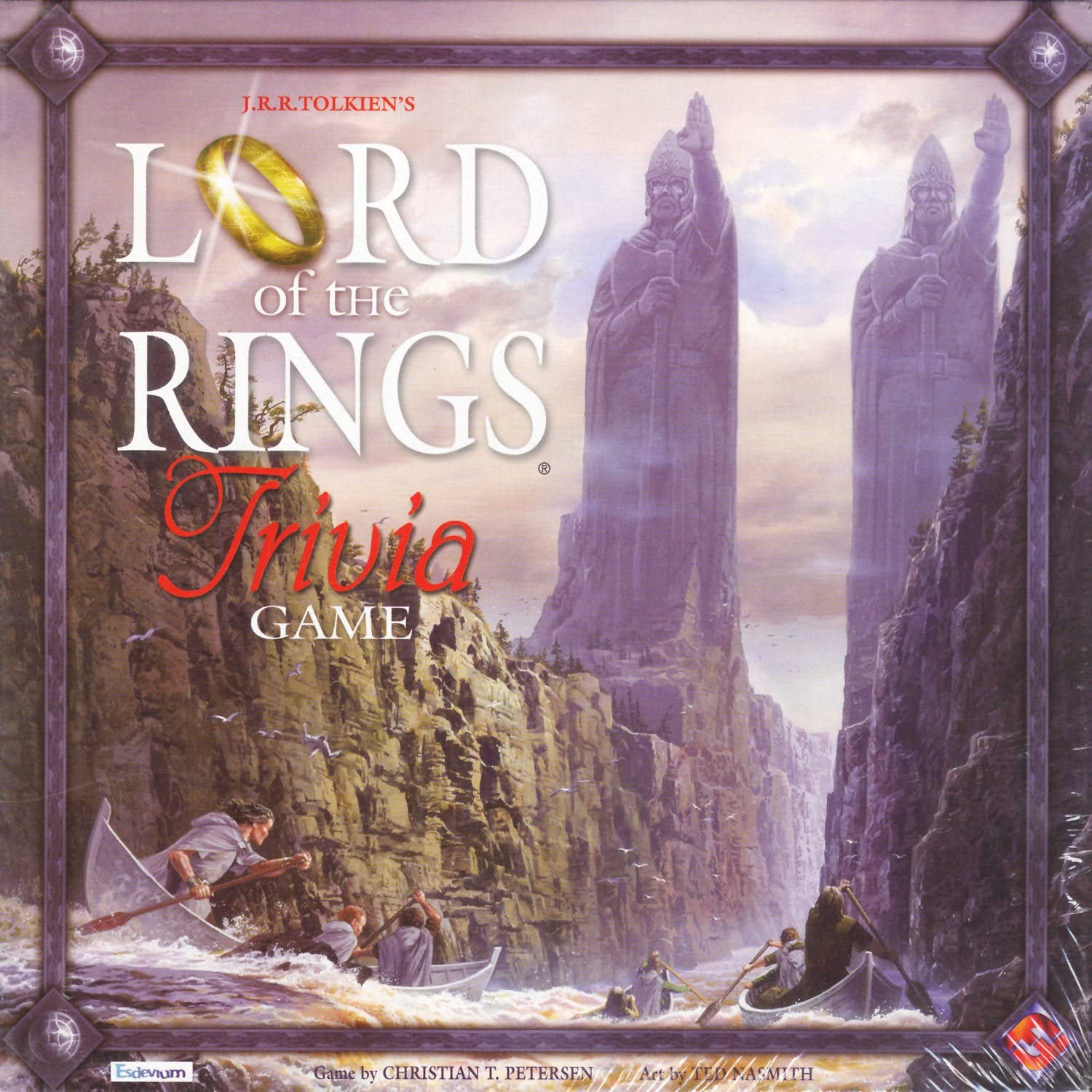 1589941020 The Lord Of The Rings Trilogy Trivia Board Game 81mGKBmG2BxL.SL1500_