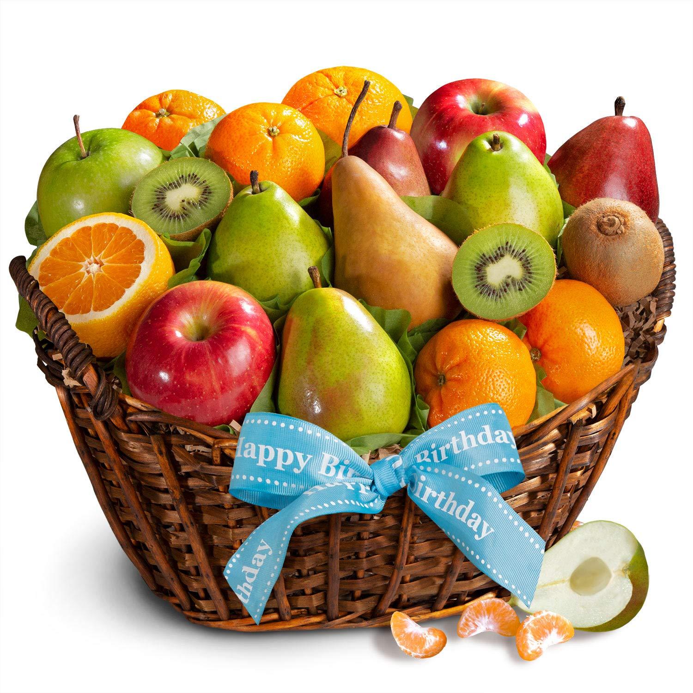 Golden State Fruit Basket, Happy Birthday