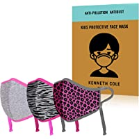 Kenneth Cole Kids Face Mask: Heiq V-block and Smart Temp Protection for Children 5 to 11 Years Old