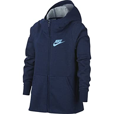 Nike G NSW Hoodie FZ PE, Felpa Bambina: Amazon.it: Abbigliamento