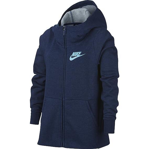 Nike Mädchen Full Zip Pe Kapuzenjacke