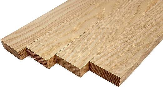 3//4 x 4 x 18 3//4 x 4 White Oak Lumber Board 2 Pcs