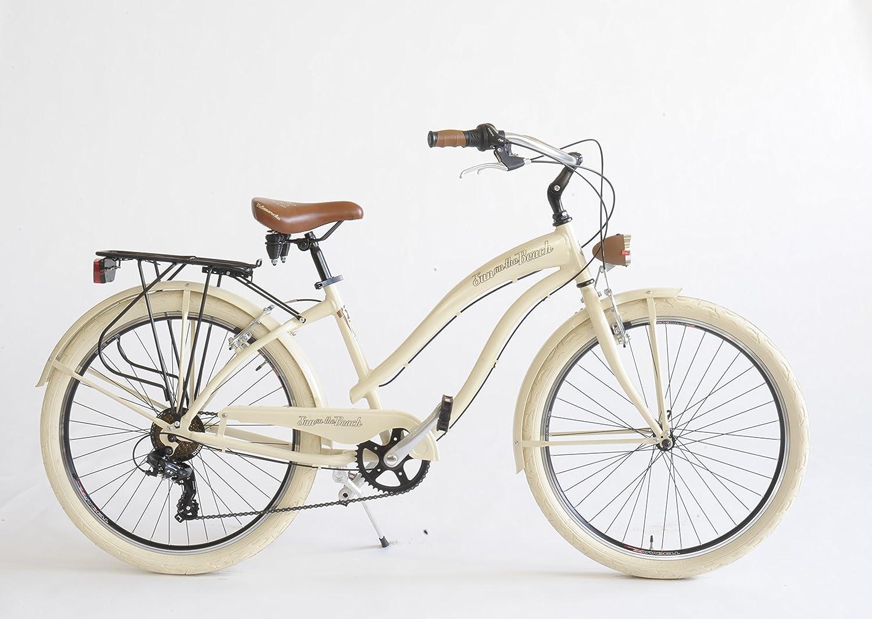 Fahrrad Cruiser Damen Made in Italy via Veneto Hellblau Velomarche