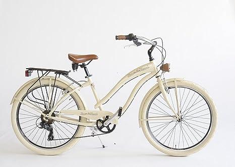 Bicicletta Cruiser Donna Made In Italy Via Veneto Beige Amazonit