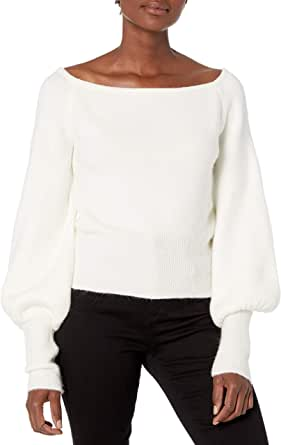 Keepsake the Label Women's Like This Off The Shoulder Slouchy Knit Top