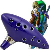 Garumi Ocarina De Ceramica Zelda 12 Agujeros con Estuche