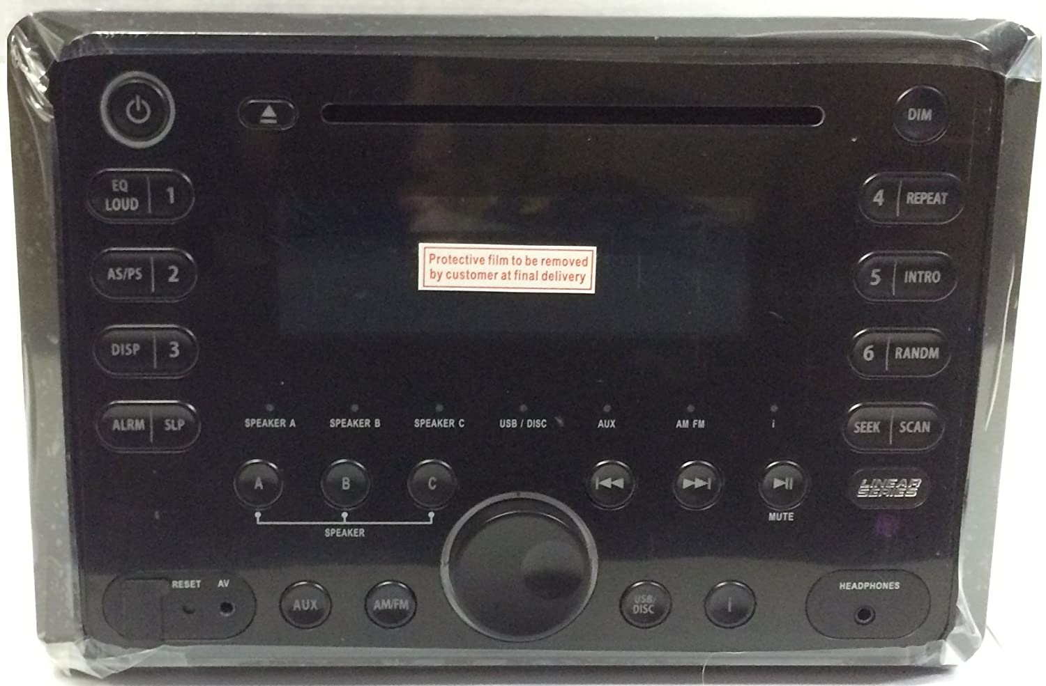 Amazon.com: Magnadyne RV5080 Wall-mount AM/FM/CD/DVD Player: Sports on