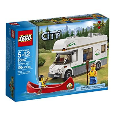 LEGO City Great Vehicles 60057 Camper Van (Discontinued by manufacturer): Toys & Games