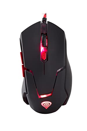 Genesis Gx44 2500 Dpi Gaming Optical Mouse Spill Gaming Mice
