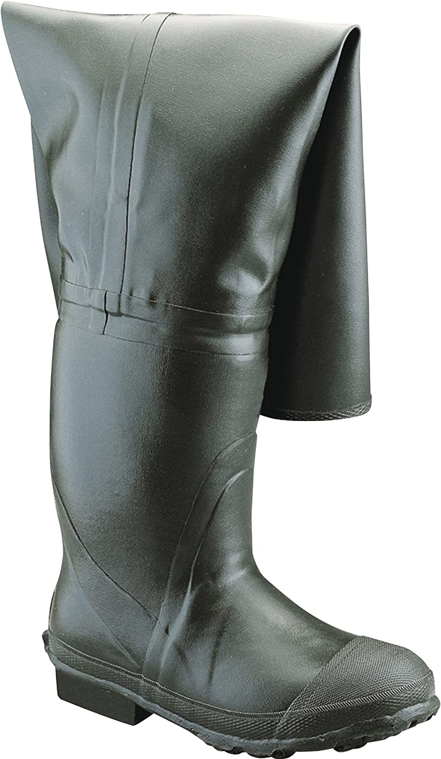 "Ranger Bullhead 32"" Heavy-Duty Men's Full Rubber Insulated Hip Boots, Forest Green (A2300)"