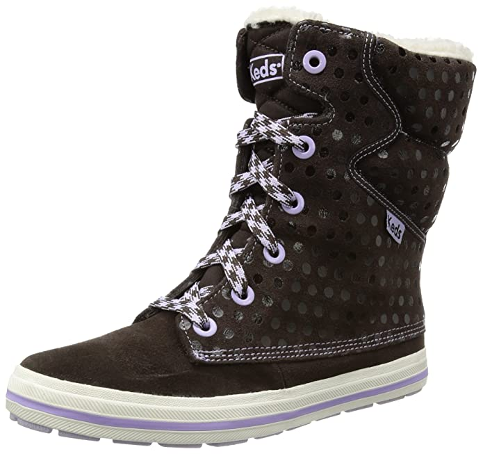 Keds Droplet Suede Dot WH48181, Damen Chukka Boots, Braun (brown), EU 39.5 (UK 6) (US 8.5)