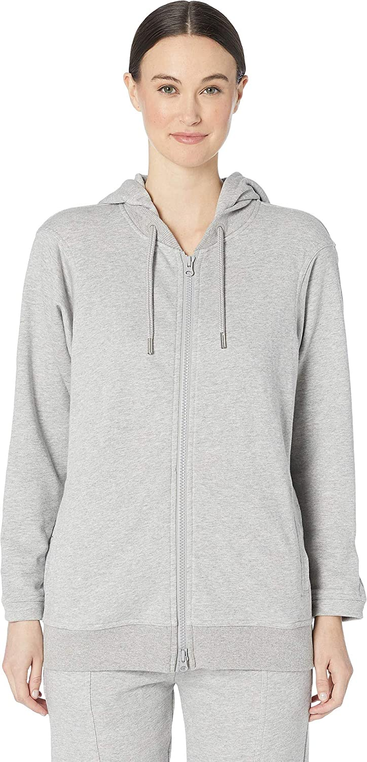 a877b7645ee36 adidas by Stella McCartney Women's Essentials Hoodie DT9213 Medium Grey  Heather Small at Amazon Women's Clothing store: