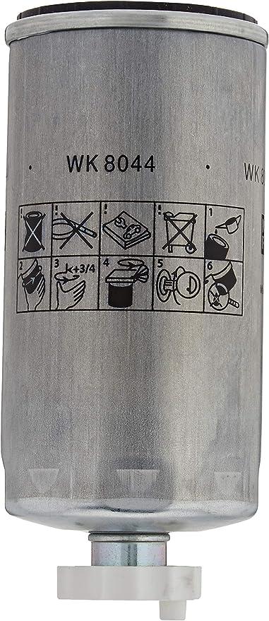 Original Mann Filter Kraftstofffilter Wk 8044 X Kraftstofffilter Satz Mit Dichtung Dichtungssatz Für Nutzfahrzeug Auto