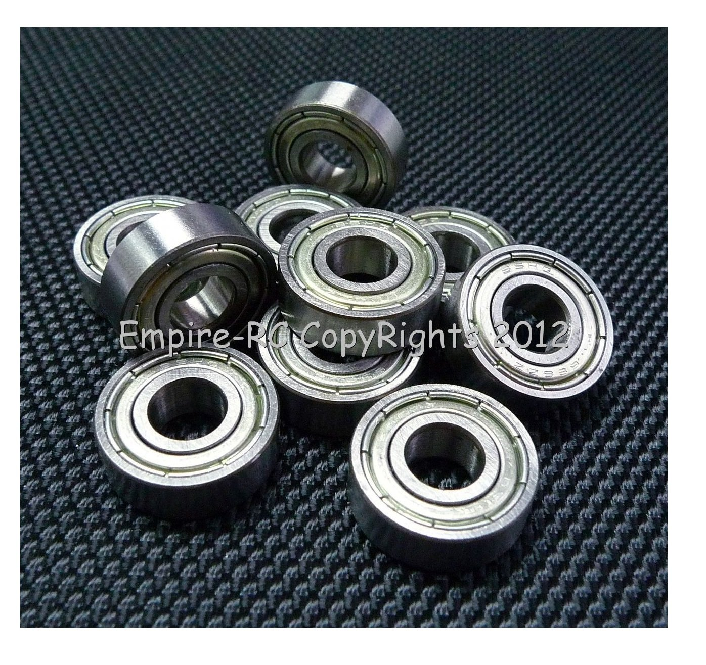 12x24x6 mm 10pcs 6901-2RS Black Rubber Sealed Ball Bearing Bearings 6901RS