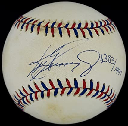 731f290703 Image Unavailable. Image not available for. Color: Ken Griffey Jr. Signed  Baseball ...