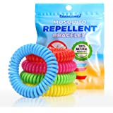 jollyjay Mosquito Repellent Bracelets - All Natural, Deet Free and Waterproof Bands for Adults and Children