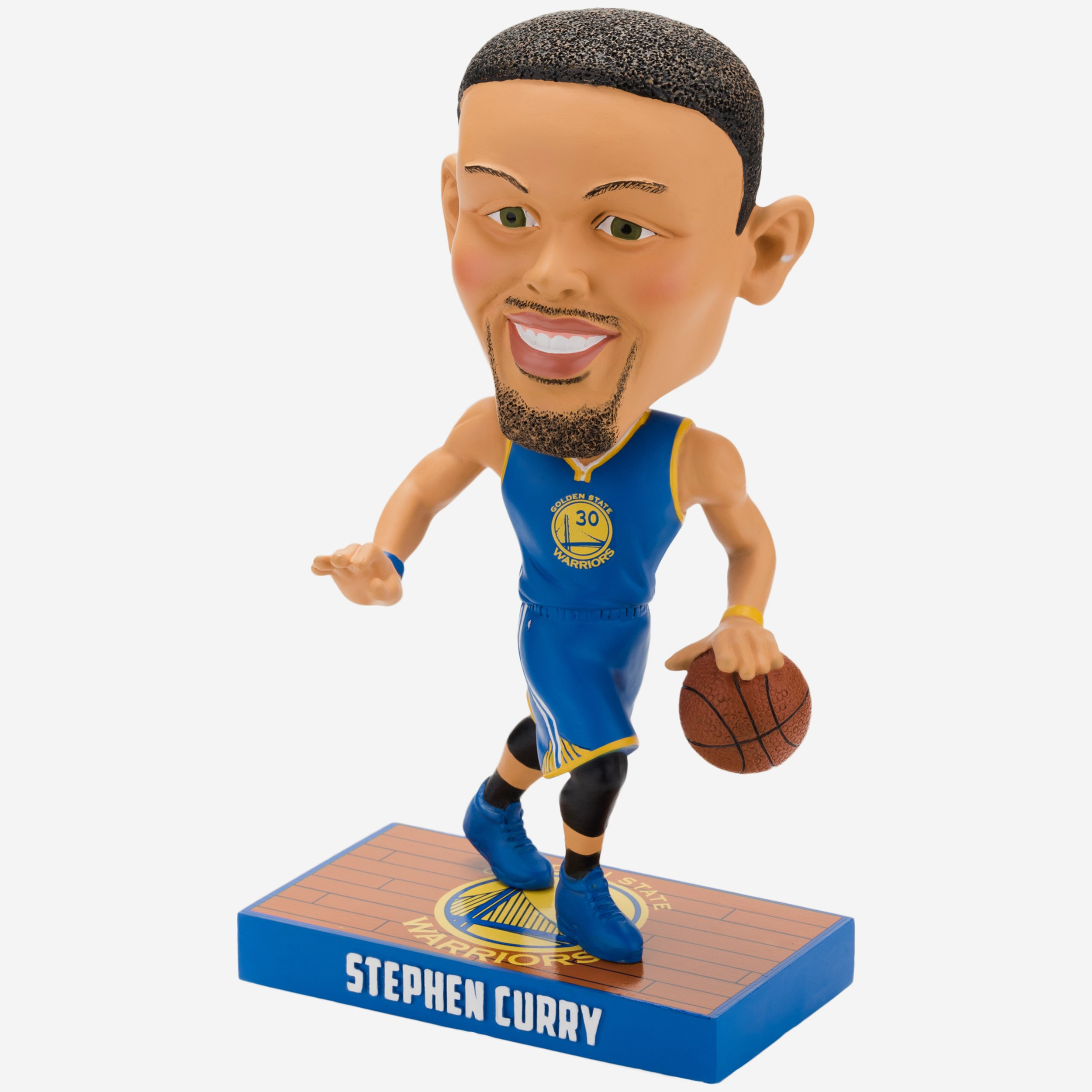 FOCO Golden State Warriors Curry S. #30 Caricature Bobble