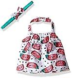 Rosie Pope Little Girls Watermelon Crop Halter Top, Azalea Pink, 18 Months
