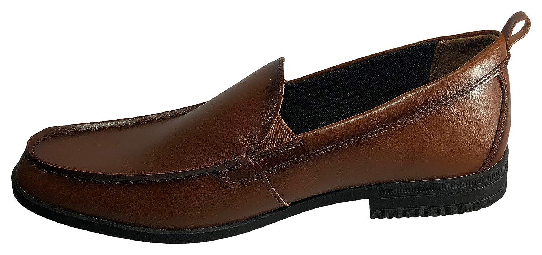 George Mens Thomas Vegan Leather Loafer Dress Shoe Brown 11 B US M