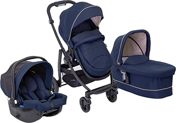 Graco Evo Trio Pushchair, Carrycot and Car Seat Travel System