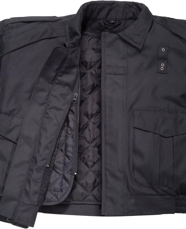 Tourmaster Flex LE 2.0 Mens Black Motor Officer Textile Jacket Small