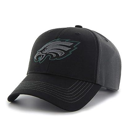 84d891f7 Amazon.com: Black Grey NFL Philadelphia Eagles Cap Sports Football ...