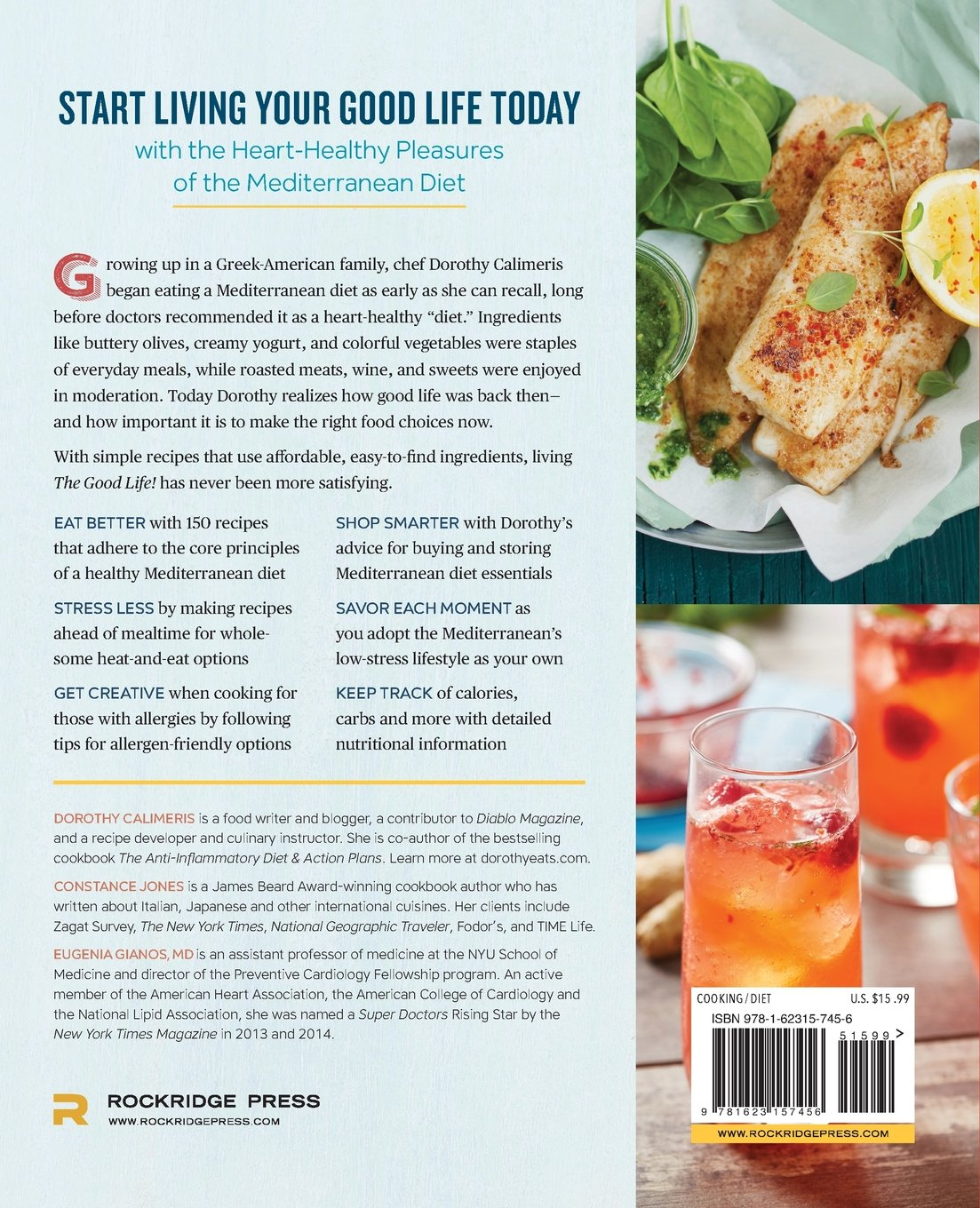 The Good Life! Mediterranean Diet Cookbook: Eat, Drink, and Live a ...