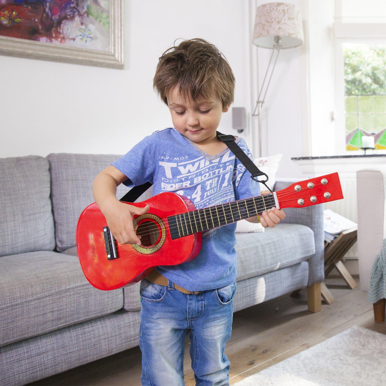 Toys Guitar/ /Rosso