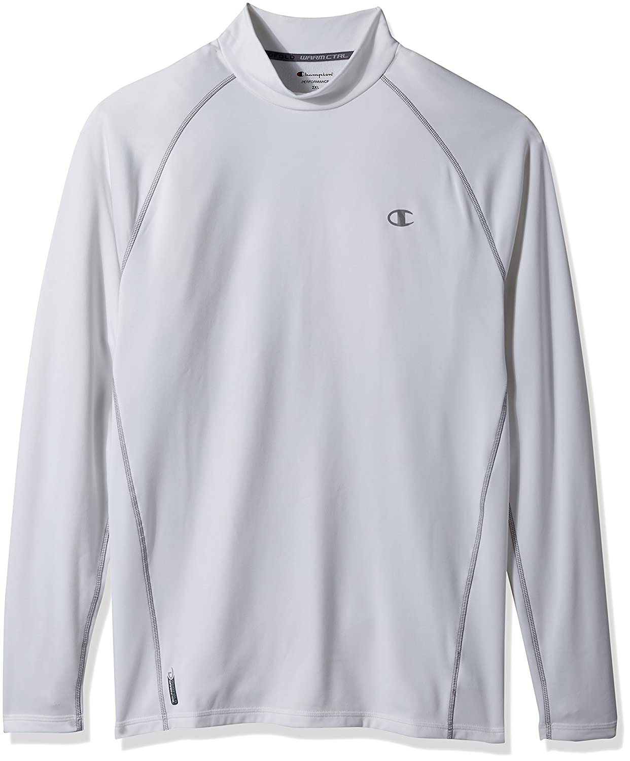 9862a59a Amazon.com: Champion Cold Weather Long Sleeve Mock Neck Tee: Clothing