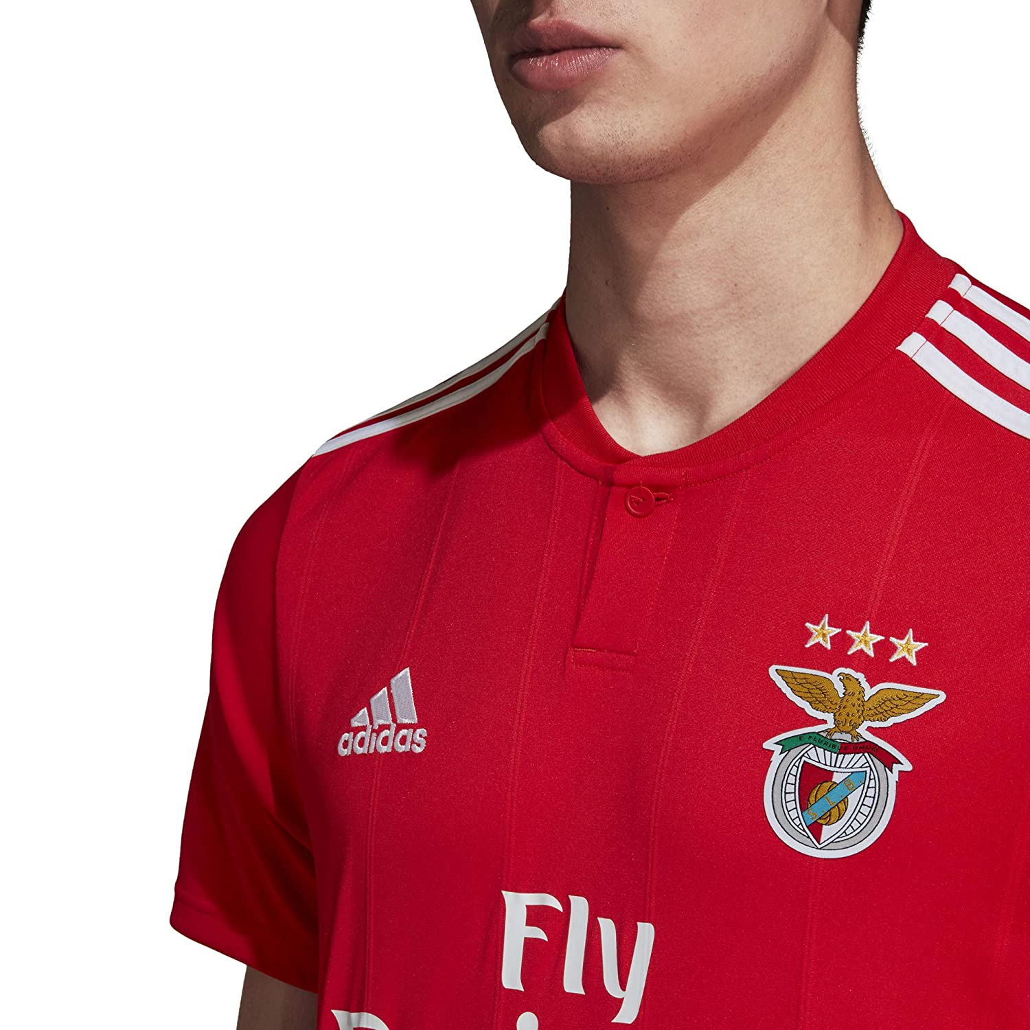Amazon.com   adidas 2018-2019 Benfica Home Football Soccer T-Shirt Jersey    Sports   Outdoors 98d345f92c4
