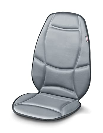 Amazon.com: Beurer Vibrating Massage Seat Cushion, With Heat and Car ...