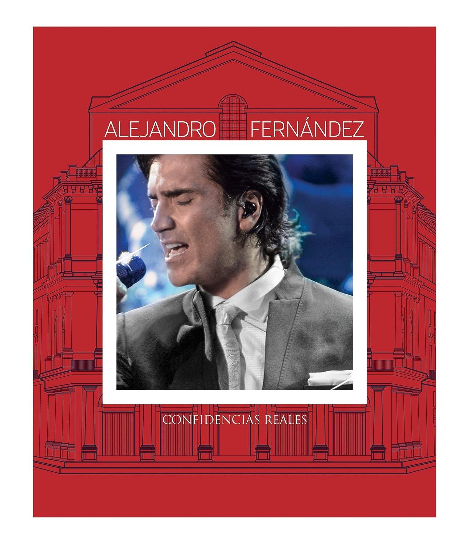 Confidencias Reales Blu Ray Alejandro Fernandez Alejandro Fernandez Movies Tv